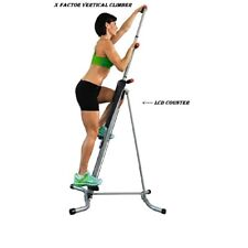 X Factor Vertical Climber Exercise Machine Workout Fitness Gym SEALED