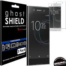 3x TECHGEAR (TPU) FULL COVERAGE Screen Protector Covers for Sony Xperia XA1