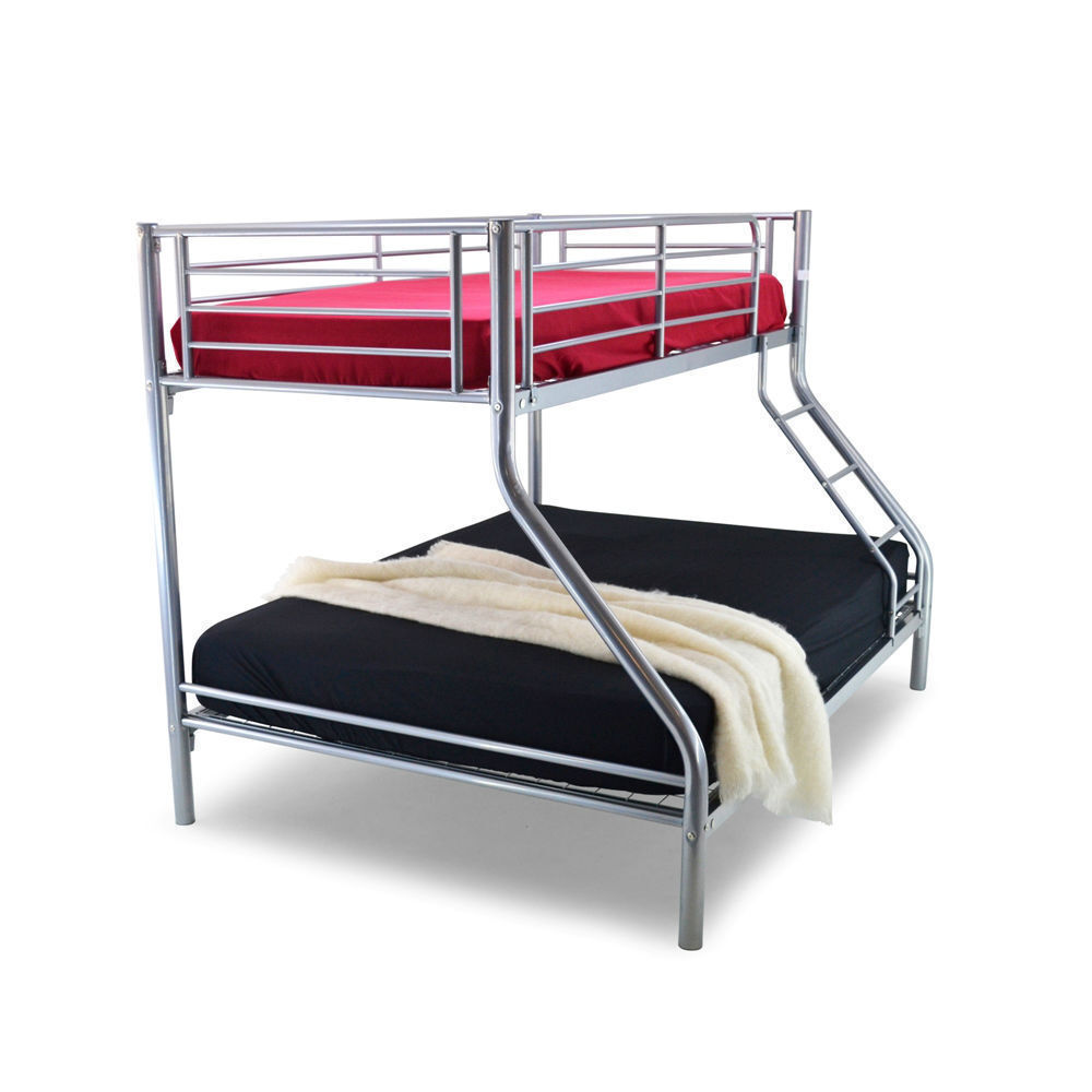 Brand New Trio Sleeper Bunk Bed Double On Bottom And