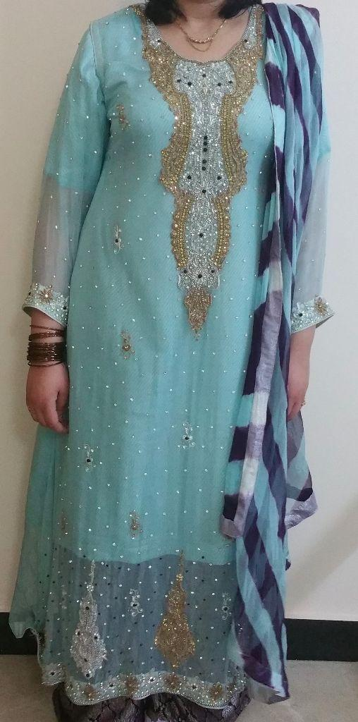 Eid shafoon dres with stone embroidery new style latest