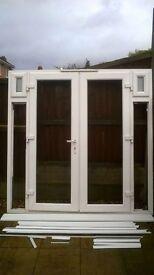 Patio doors in scotland doors windows for sale gumtree for Upvc french doors hull