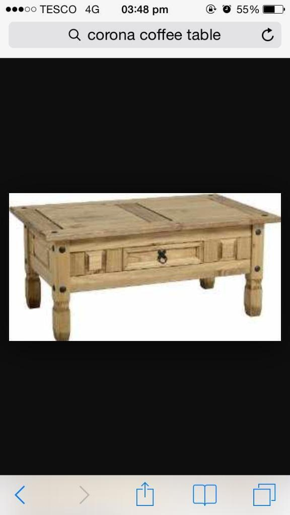 Corona coffee table united kingdom gumtree for Coffee tables gumtree