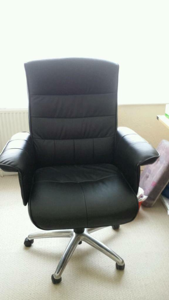 Leather Computer Chair United Kingdom Gumtree