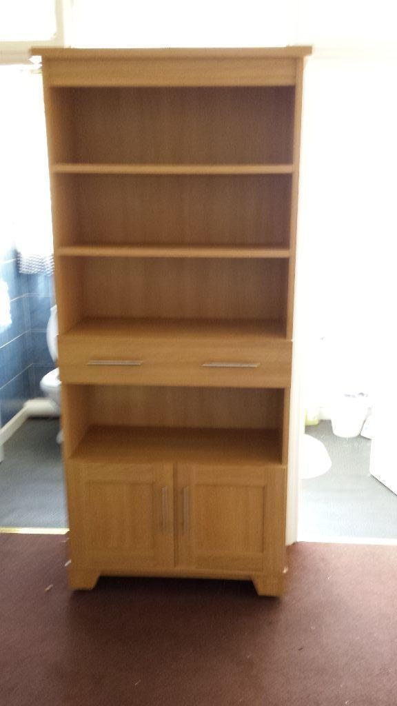 Wall unit book case cabinet united kingdom gumtree for Furniture 4 u ashington
