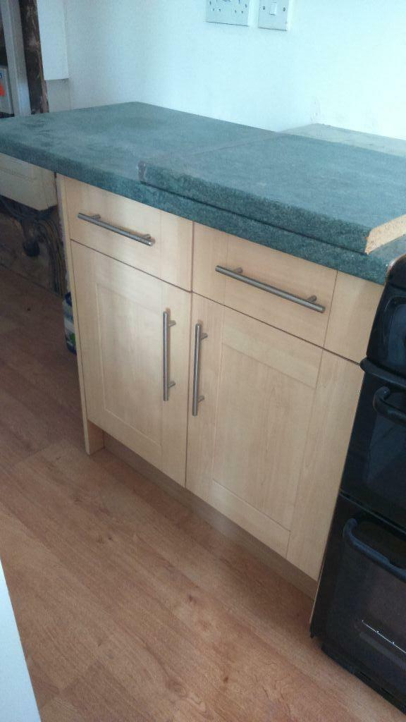 Kitchen units beech effect united kingdom gumtree for Beech effect kitchen units