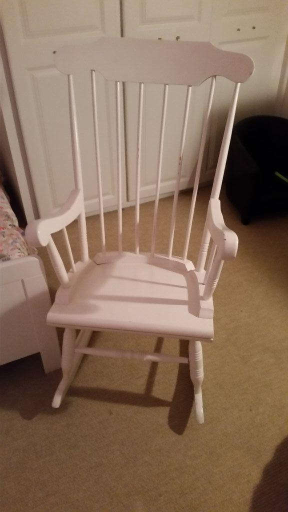 Wooden Rocking Chair For Sale  United Kingdom  Gumtree