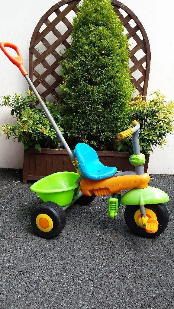 Green Smart Smart Trike Green Orange