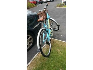 Vintage Style Bike With Basket - BRAND NEW