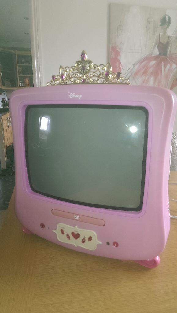Disney Princess tv And Dvd Player Pretty Princess Tv/dvd Combi