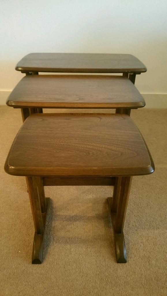 Ercol nest tables Buy sale and trade ads great prices : 86 from www.dealry.co.uk size 579 x 1024 jpeg 58kB