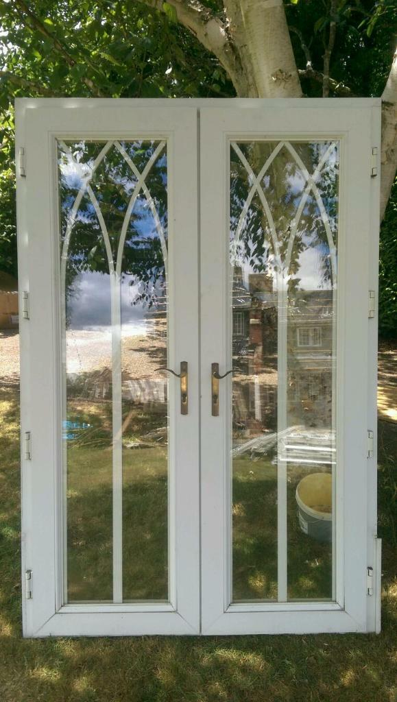 Upvc double glazed patio doors good condition united for Double glazed patio doors sale