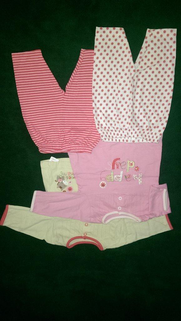 bundle of baby girl clothes 0 3 months