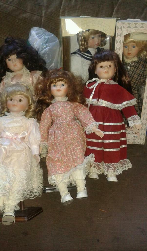 Dolls Collection Collectable Porcelain Dolls