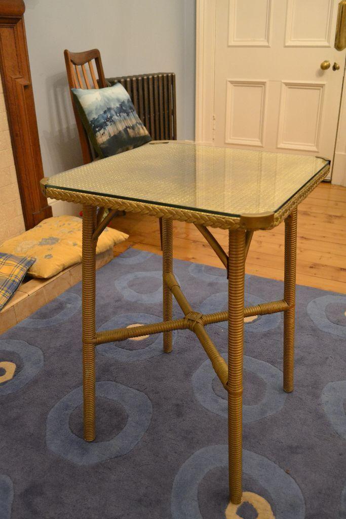Lloyd Loom Style Table United Kingdom Gumtree