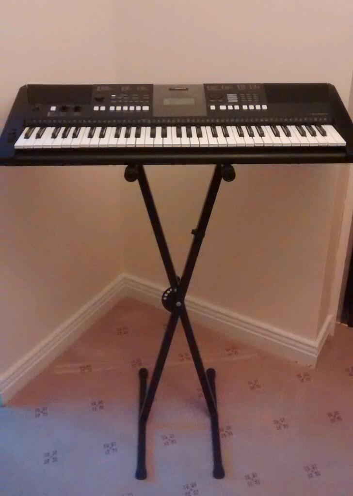 Yamaha psr e423 electronic keyboard extras united for Yamaha psr e423 for sale