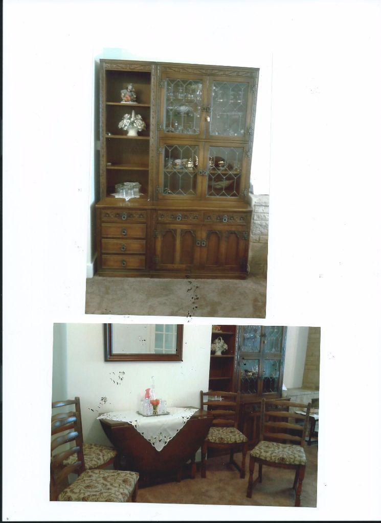 dining room wall unit 4 chairs amp coffee table united
