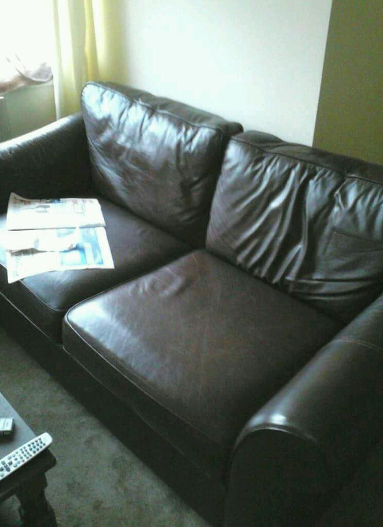 Marks And Spencer 2 Seater Leather Abbey Sofa United