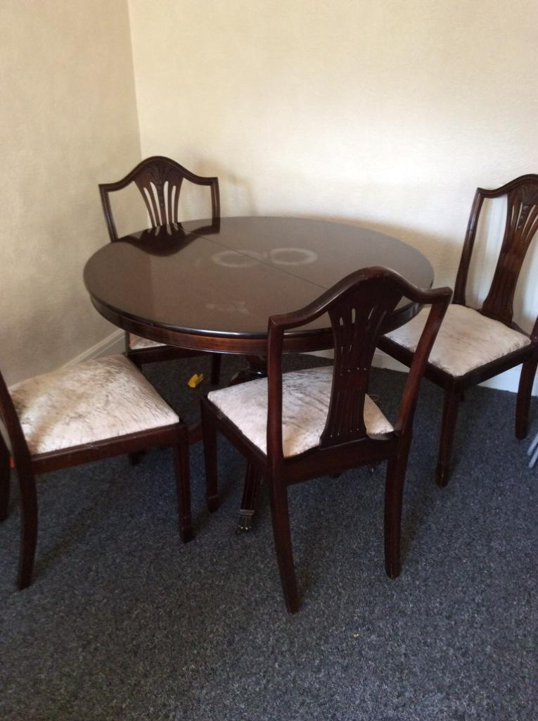 seater table and chairs united kingdom gumtree