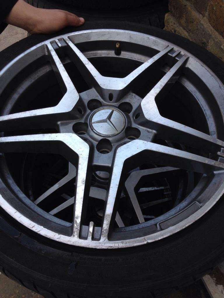 Mercedes benz alloy wheels united kingdom gumtree for Mercedes benz mag wheels