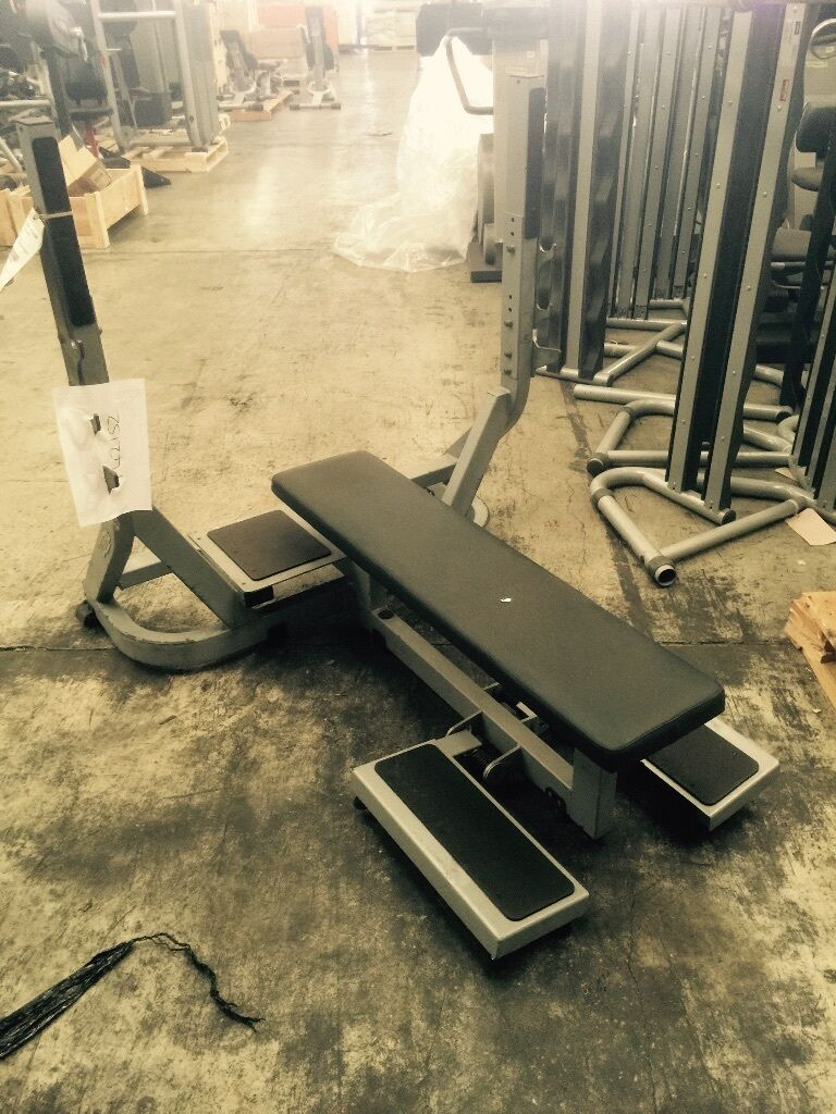 Technogym Pure Strength Olympic Flat Bench For Sale United Kingdom Gumtree