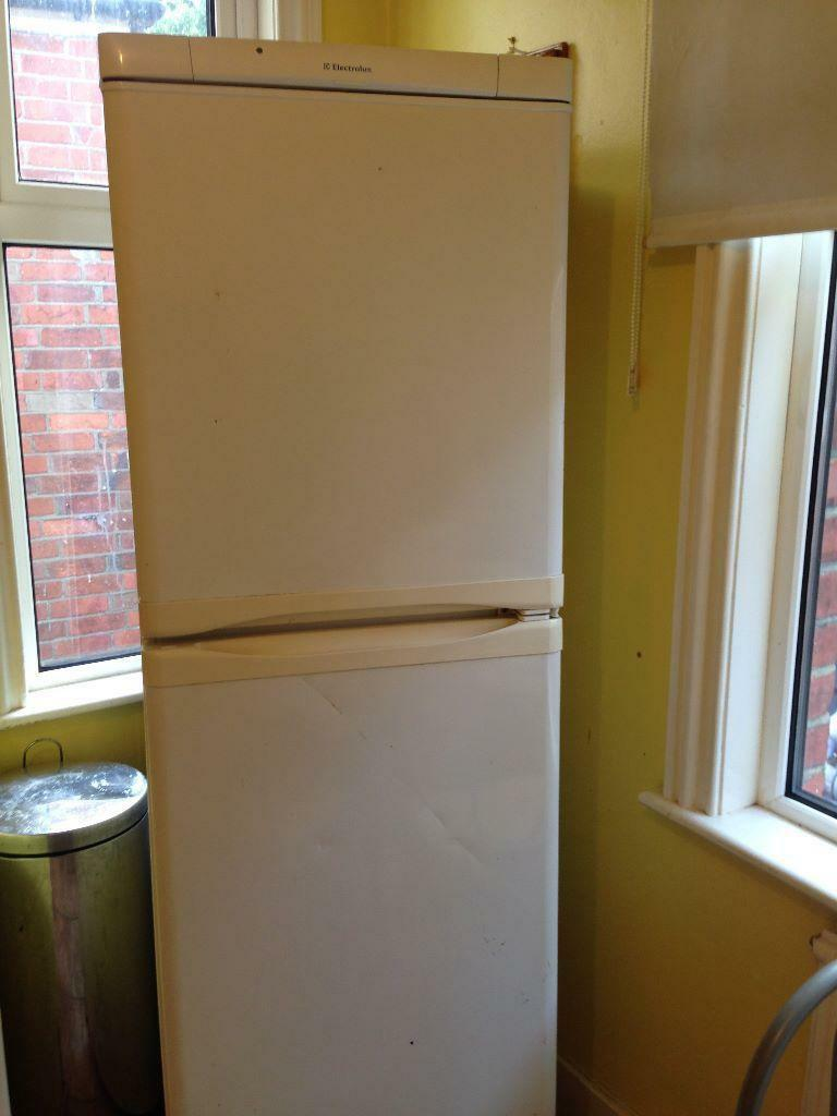 Empty Fridge Freezer Elactrolux Fridge/freezer For