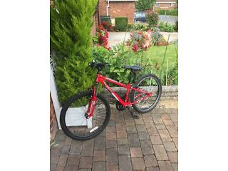 boys xc24 bike like new