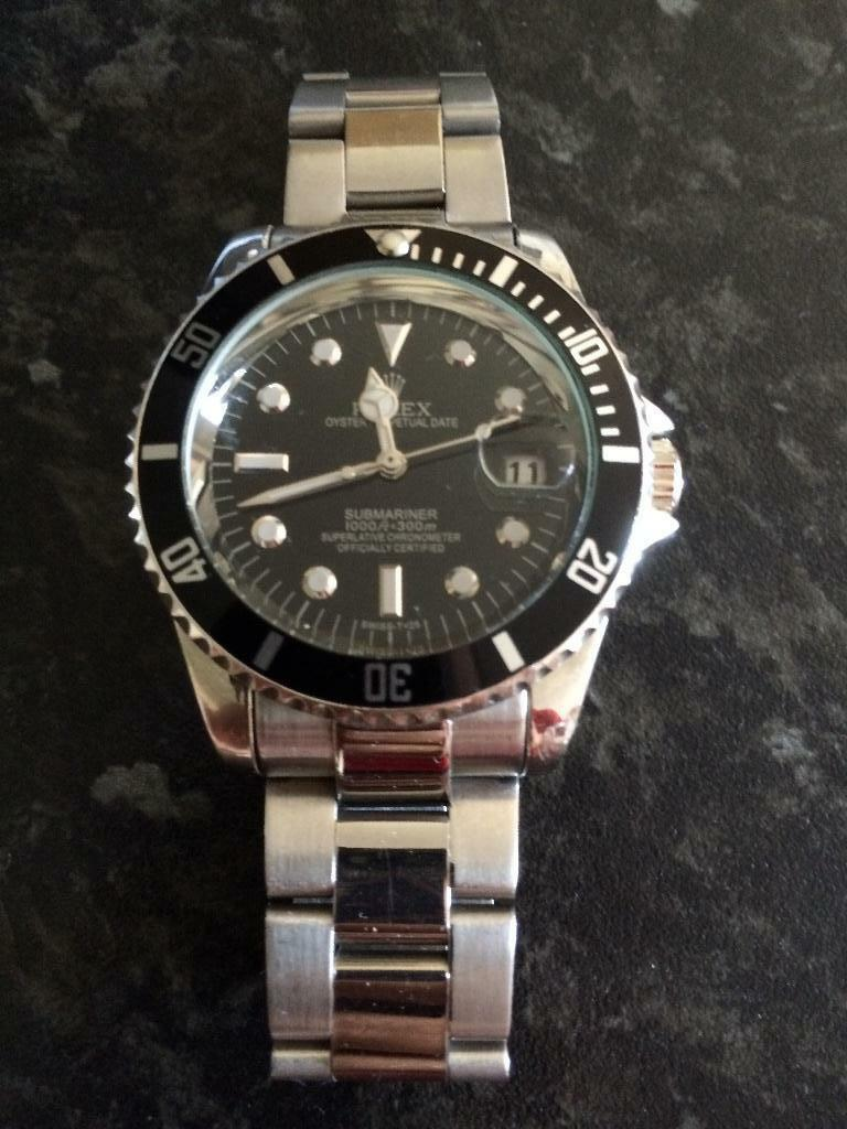 Black Face Rolex - Good Condition | United Kingdom | Gumtree