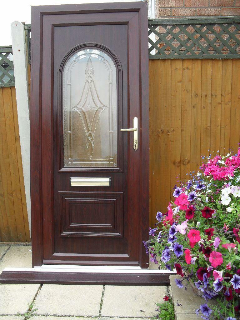 Upvc rosewood front door with buy sale and trade ads for Upvc front doors for sale