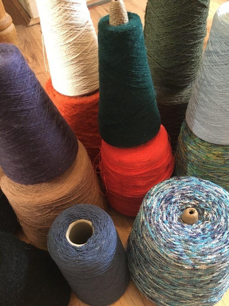 Knitting Equipment London : Box of knitting machine yarn united kingdom gumtree