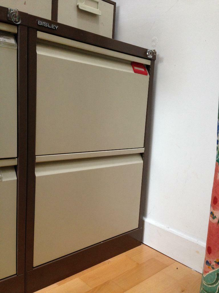 2 Drawer BISLEY Filing Cabinet