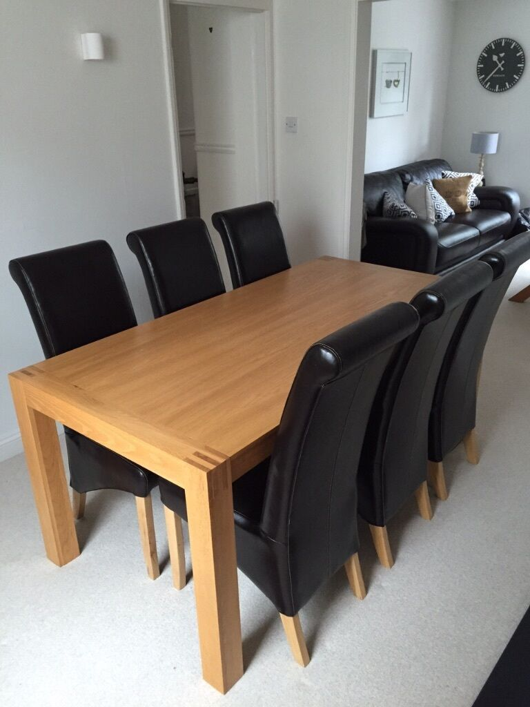 A Solid Original Oak Dining Table Buy Sale And Trade Ads
