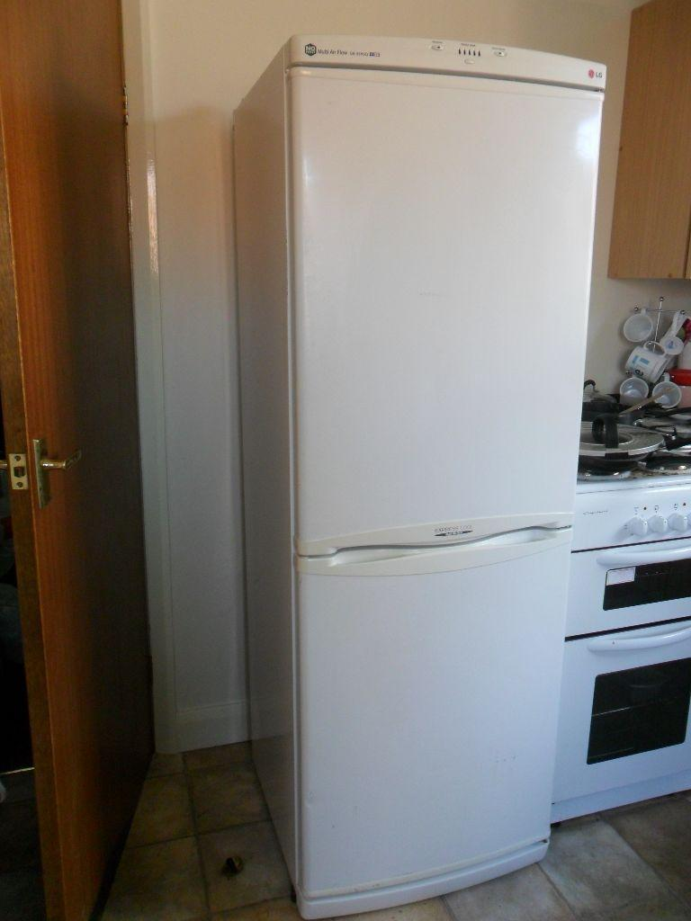 LG Frost Free Fridge Freezer A Class Family Size United Kingdom ...