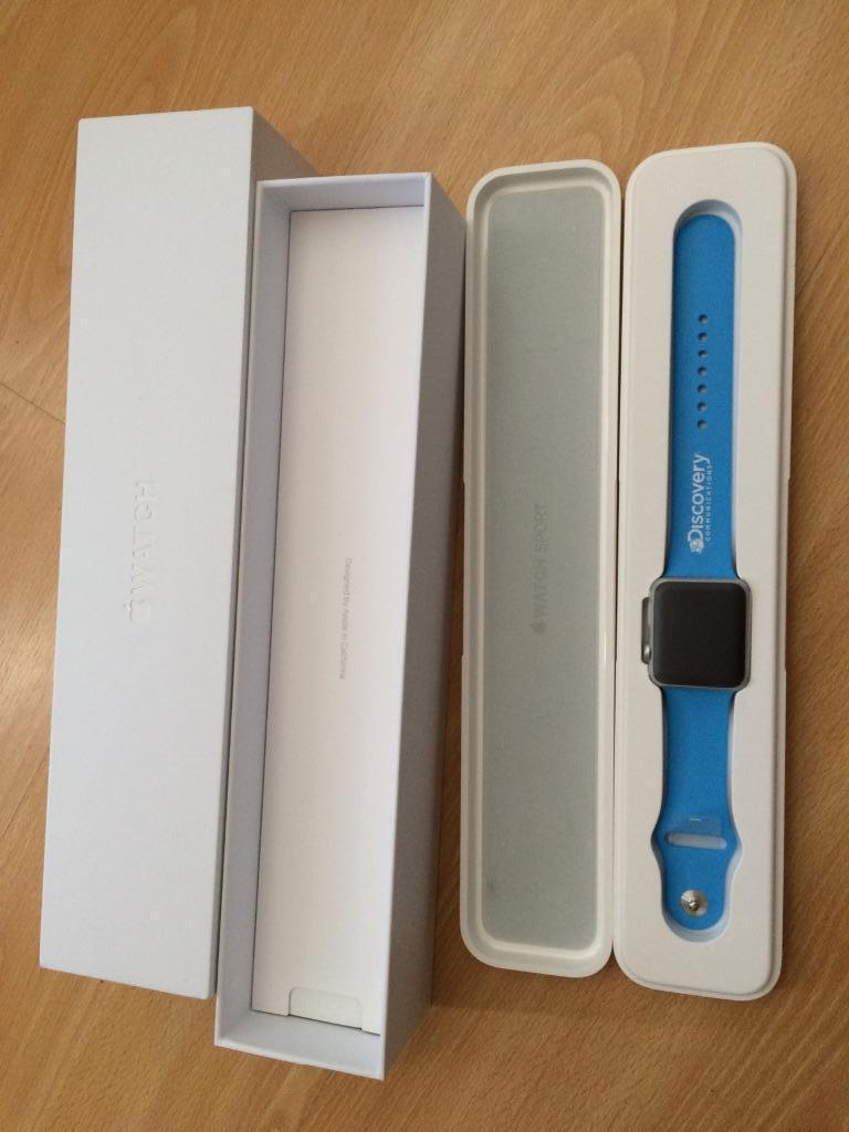 Apple Iwatch Sport Box Apple Iwatch Sport