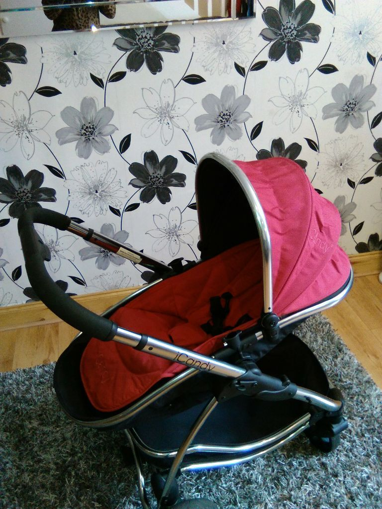 Icandy Strawberry Icandy Strawberry Carrycot