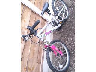 Girls Apollo pure 16in bike shimano gears