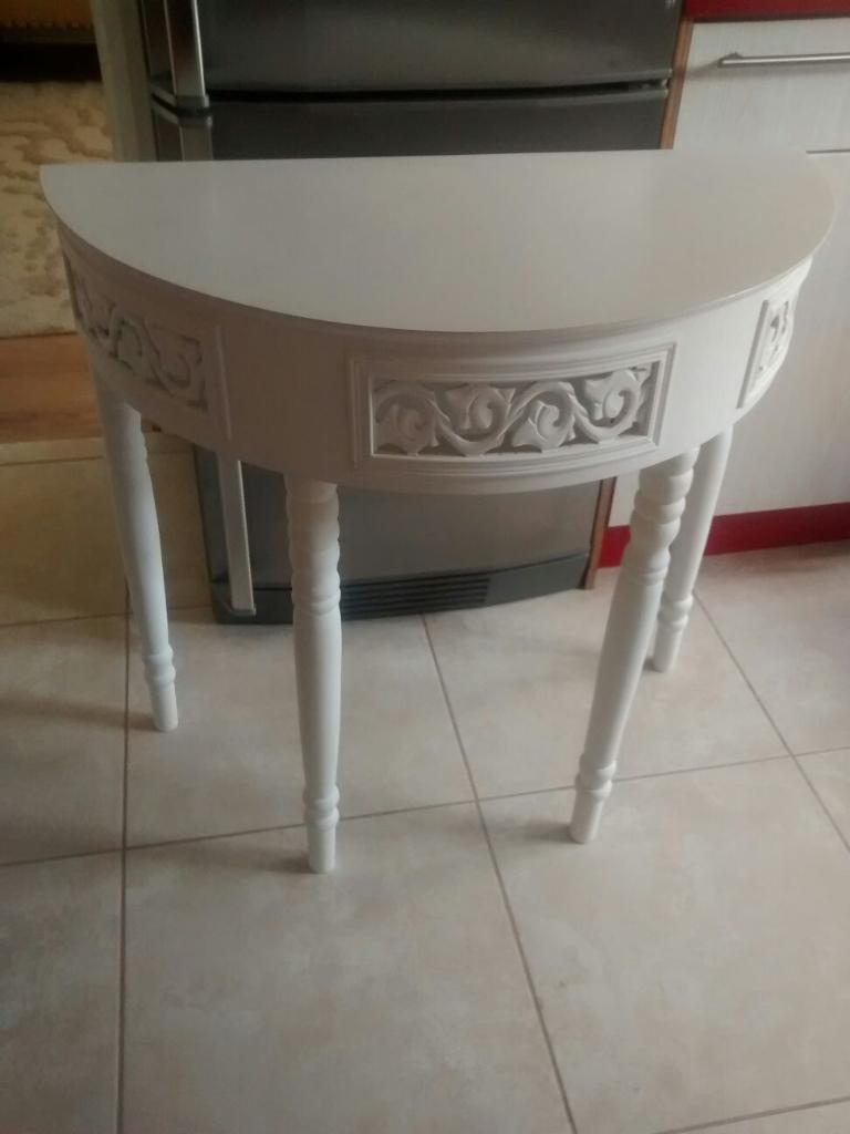 shabby chic wooden console table united kingdom gumtree