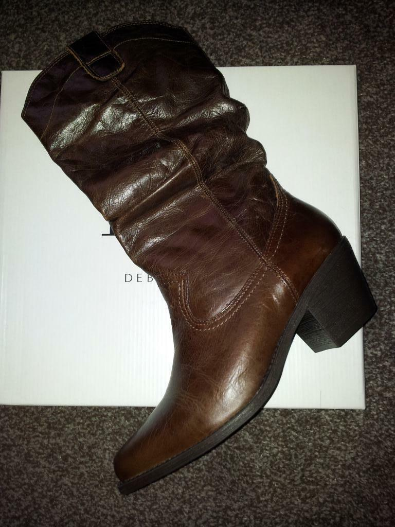 faith brown boots size 5 united kingdom gumtree