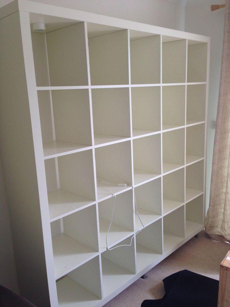 ikea expedit shelving unit 5x5 images. Black Bedroom Furniture Sets. Home Design Ideas