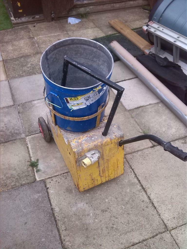 Pro Force Cement Mixer Forced Action 110v Mixer