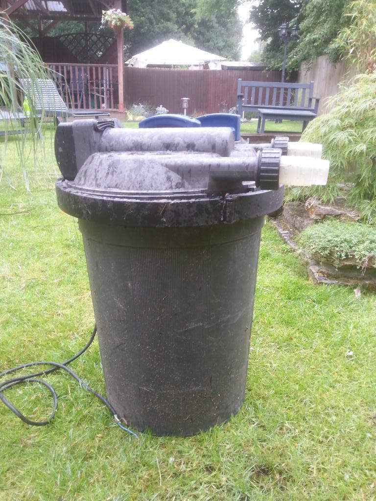 Pond filter with uv light buy sale and trade ads for Uv pond filters for sale