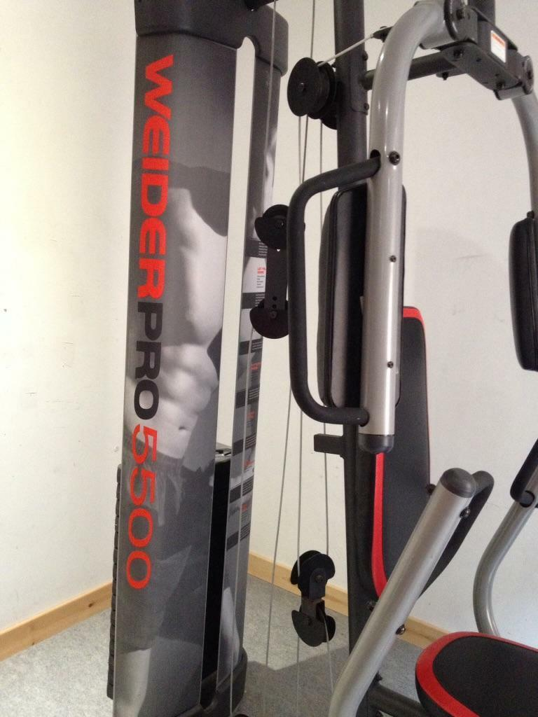 Weider home multigym for sale excellent condition