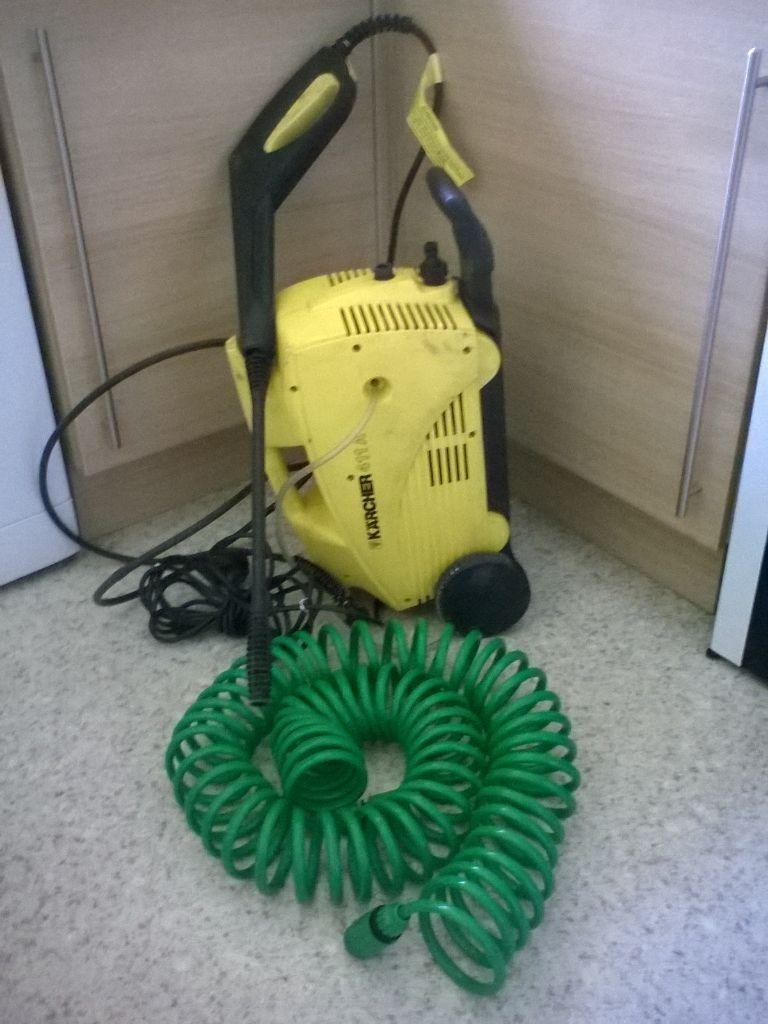 Karcher 411a pressure washer with 10 metre hose united for Gardening tools gumtree