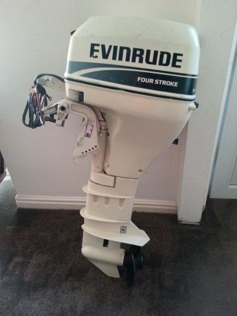 Evinrude 10hp longshaft four stroke outboard electric for 10 hp outboard jet motor