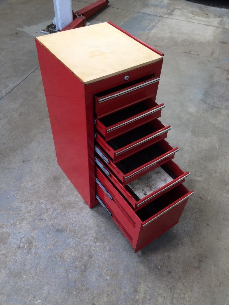 Tool Box Side Cabinet Extra Storage Mechanics Tool Chest