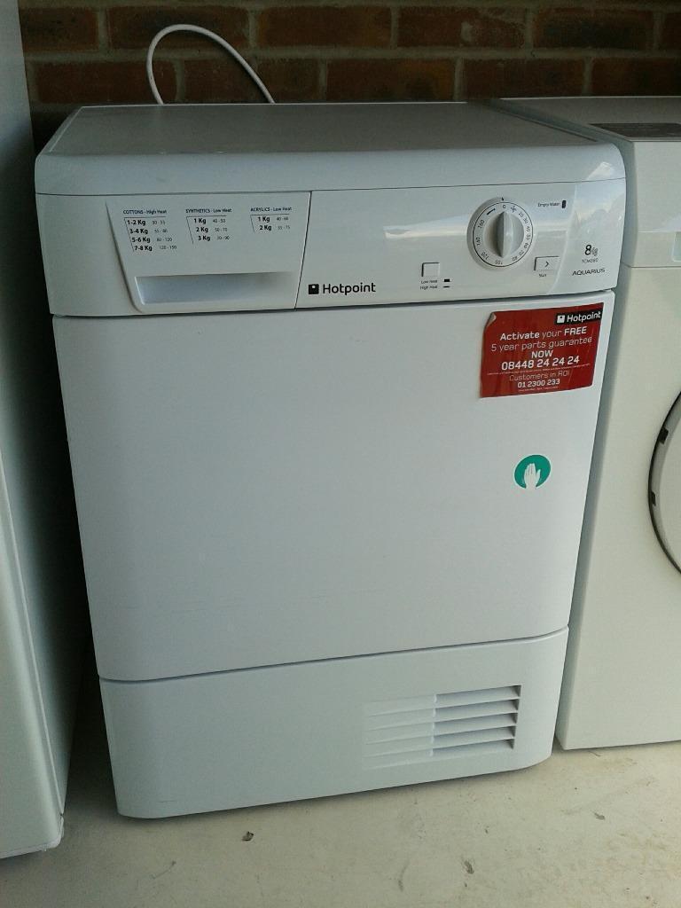 Hotpoint Tumble Dryer Condenser Type United Kingdom