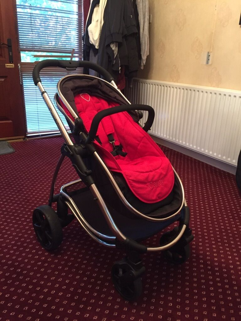 Icandy Strawberry Carrycot Icandy Strawberry