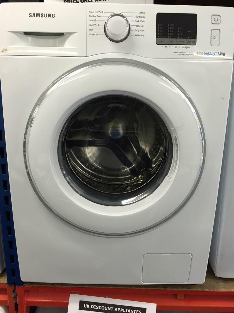 samsung washing machine new graded 7kg sopin 1400 a eco bubble only united kingdom. Black Bedroom Furniture Sets. Home Design Ideas
