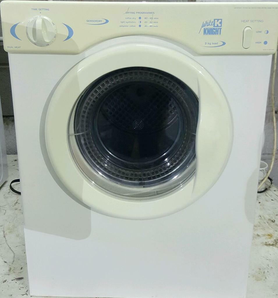 3kg 6 ads buy sell used find great deals and prices - Tumble dryer for small space pict ...