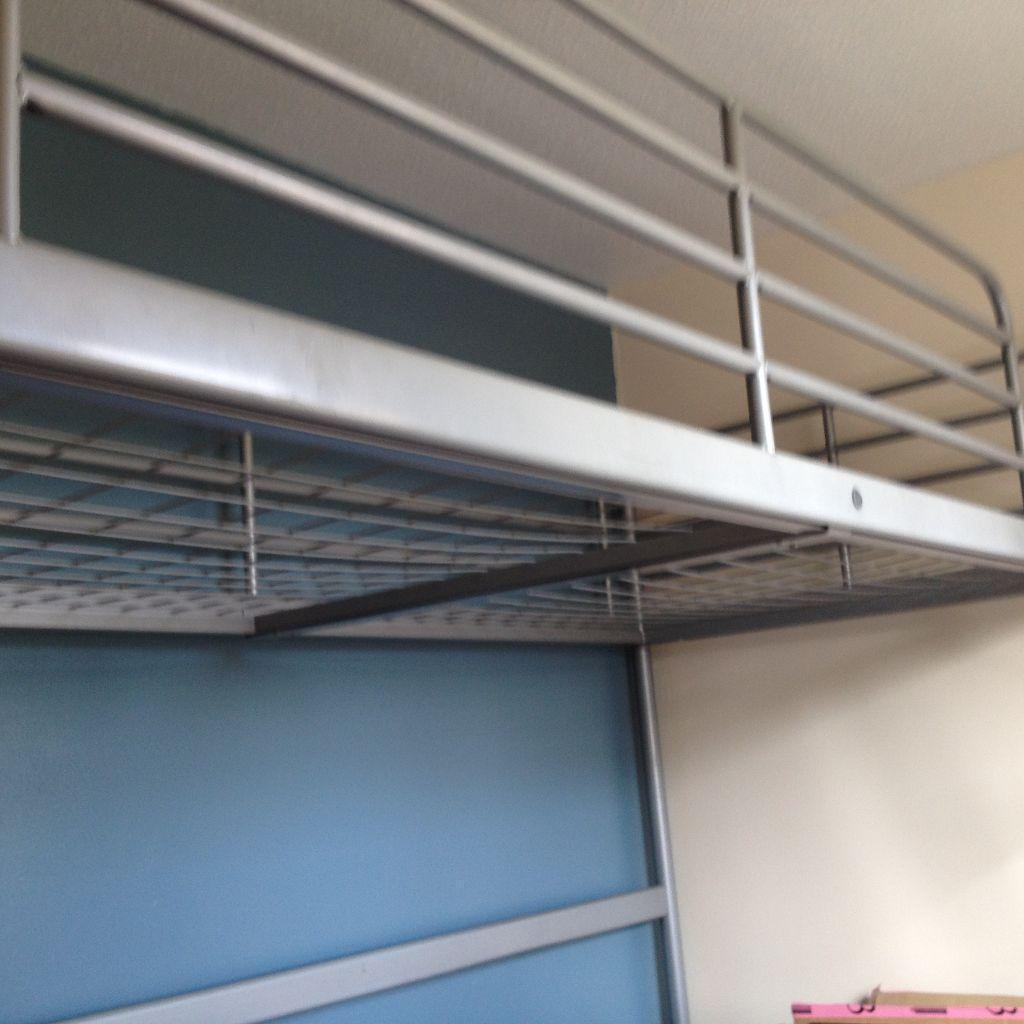 Single bunk bed steel frame united kingdom gumtree for Gumtree bunk beds
