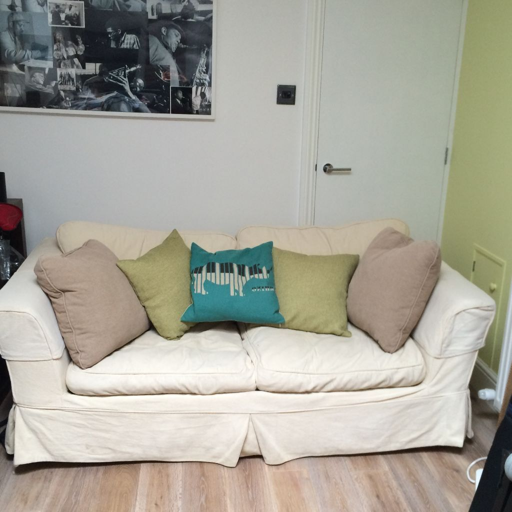 cream sofa washable covers buy or sell find it used